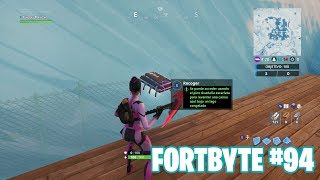 Fortnite Battle Royale ? Fortbyte Challenges How to get the Fortbyte #94