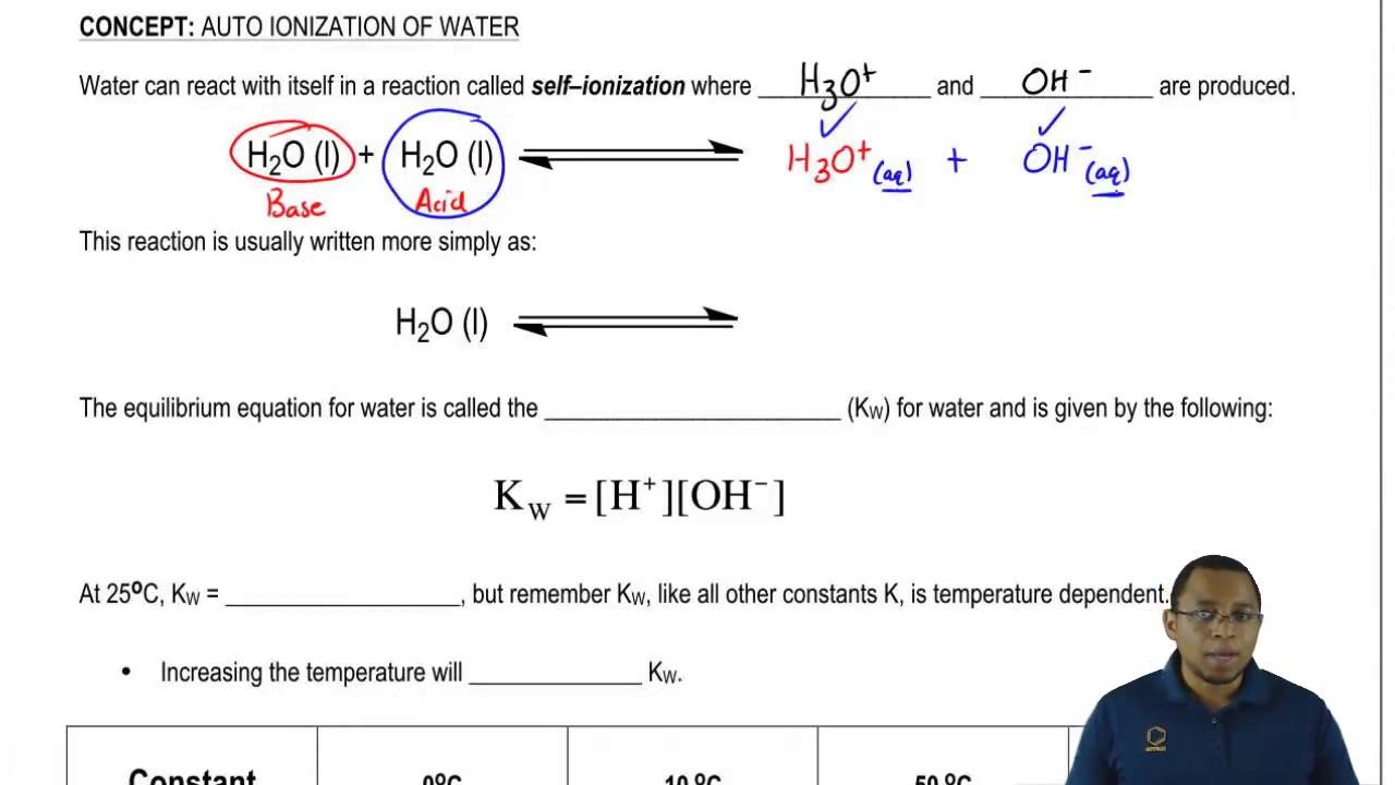 how to write an ionization equation