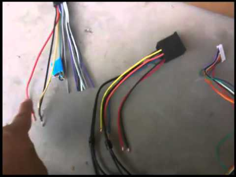hqdefault how to install an aftermarket car stereo al g youtube how to rewire a car wiring harness at honlapkeszites.co