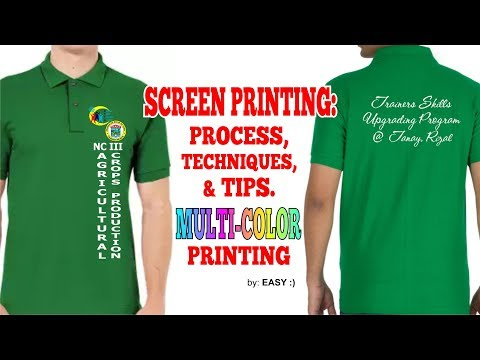 Screen Printing: Process, Techniques & Tips