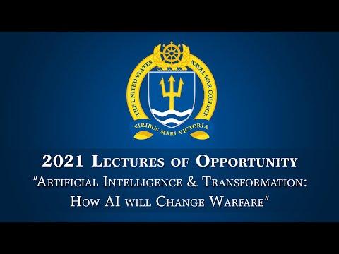 LOO: Artificial Intelligence & Transformation – How AI will Change Warfare with Lt. Gen. Groen