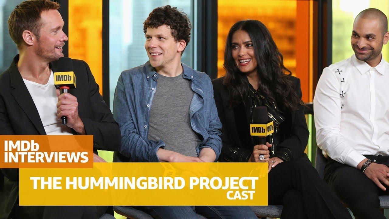 Alexander Skarsgård, Salma Hayek & Cast of 'The Hummingbird Project' Tell  Funny Stories of Filming