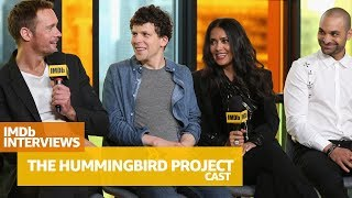 Alexander Skarsgård, Salma Hayek & Cast of 'The Hummingbird Project' Tell Funny Stories of Filming