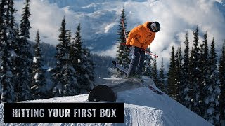 Hitting Your First Box On Skis