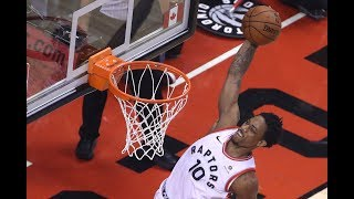 Demar derozan threw down so many dunks in his 9 year career for toronto, these 10 are among the best. subscribe: https://www./user/bleacherreport?...