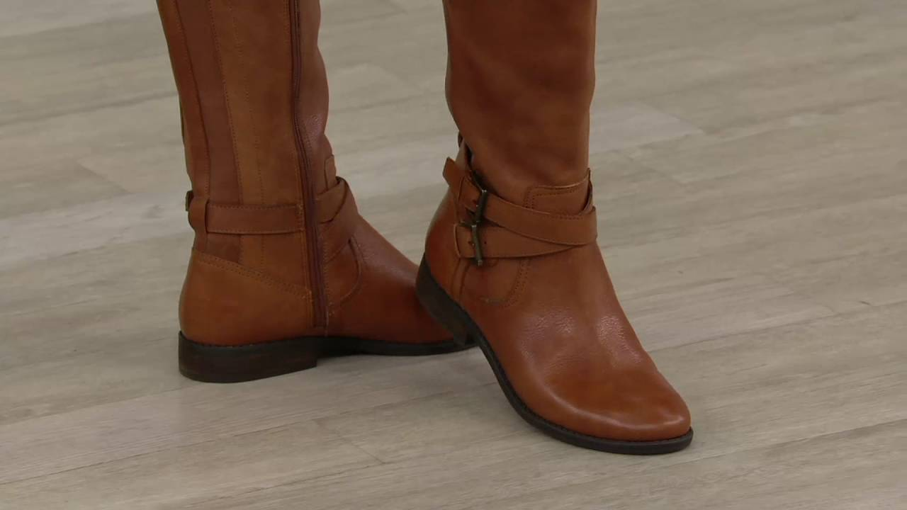 Marc Fisher Choice of Calf Leather Riding Boots - Audrey ...