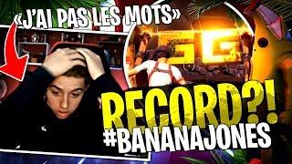 World record de... MICHOU ?! sur mon Deathrun #BananaJones sur Fortnite Créatif !