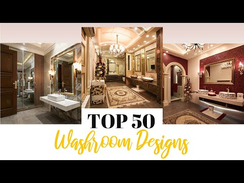 Top 50 Beautiful Washroom Design Ideas By Syed Brothers 2020