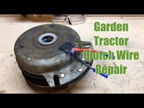Cub Cadet Ripped Wire Electrical Clutch Repair - YouTubeYouTube