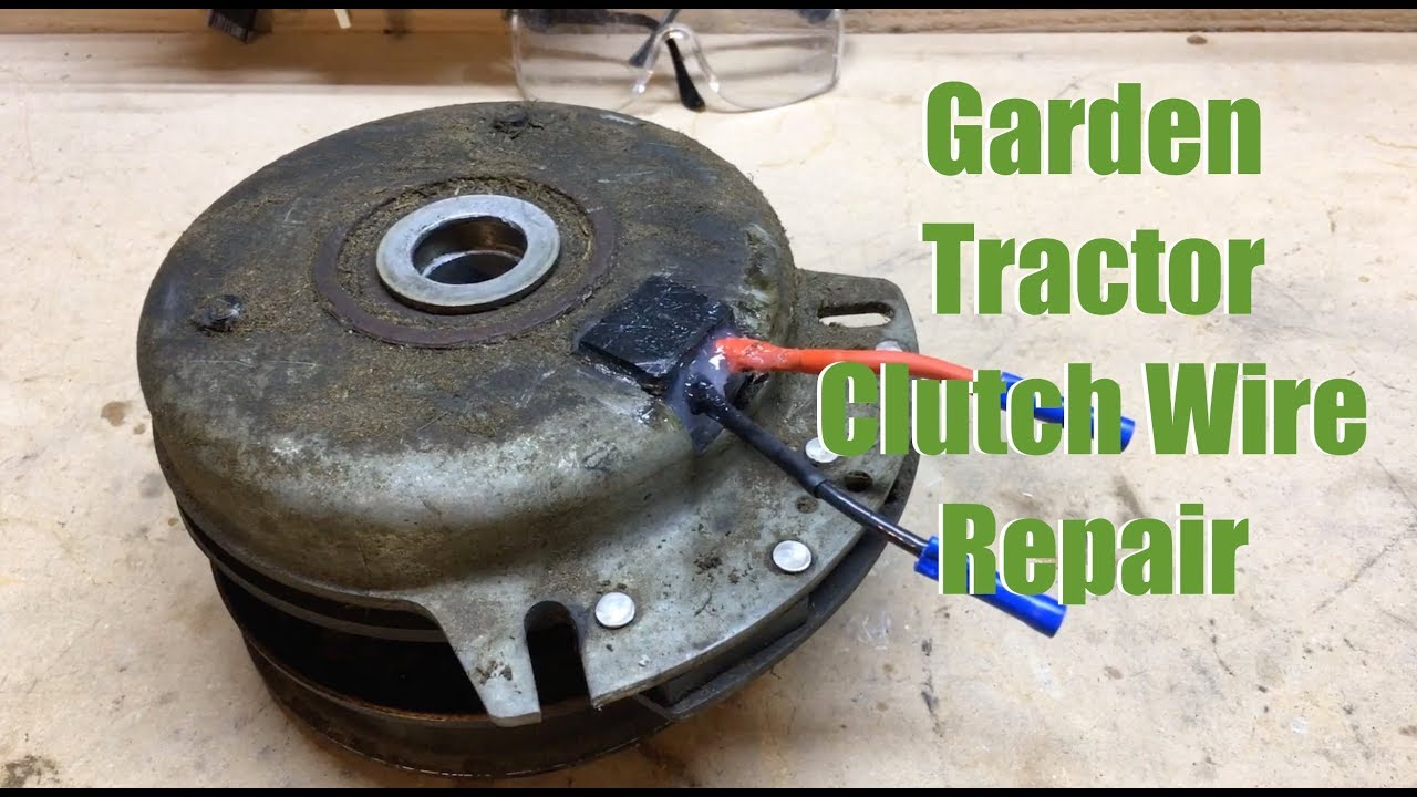 Cub Cadet Ripped Wire Electrical Clutch Repair  YouTube