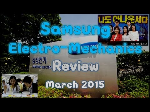 Samsung Electro-Mechanics Co.,Ltd. Stock Value Review - March 2015 (No BGM)