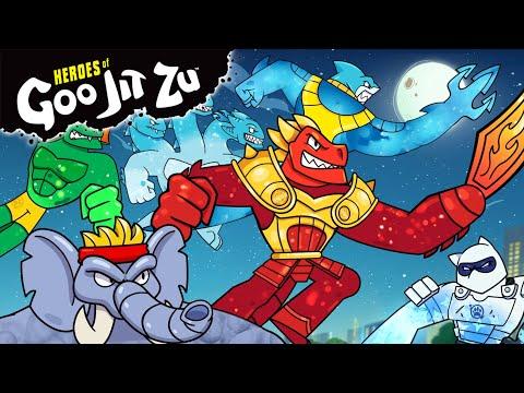 NEW!! Heroes Of Goo Jit Zu | Episode 3 | What Goos Around Comes Around | Cartoon For Kids