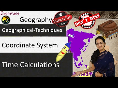 Coordinate System & Time Calculations - Fundamentals of Geography