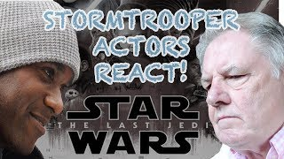Star Wars actors react to The Last Jedi trailer (ones less impressed!)