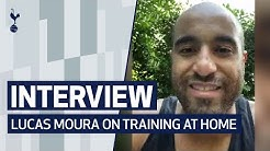 INTERVIEW | LUCAS MOURA ON TRAINING AT HOME WITH HIS FAMILY