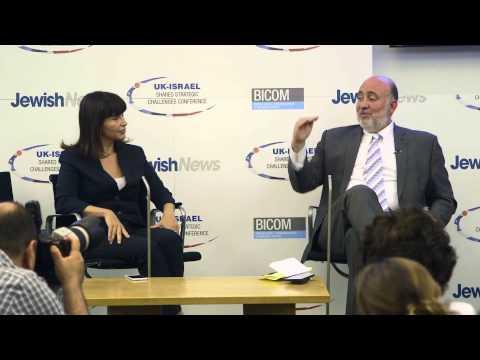 Ron Prosor speaks at Jewish News UK-Israel Conference