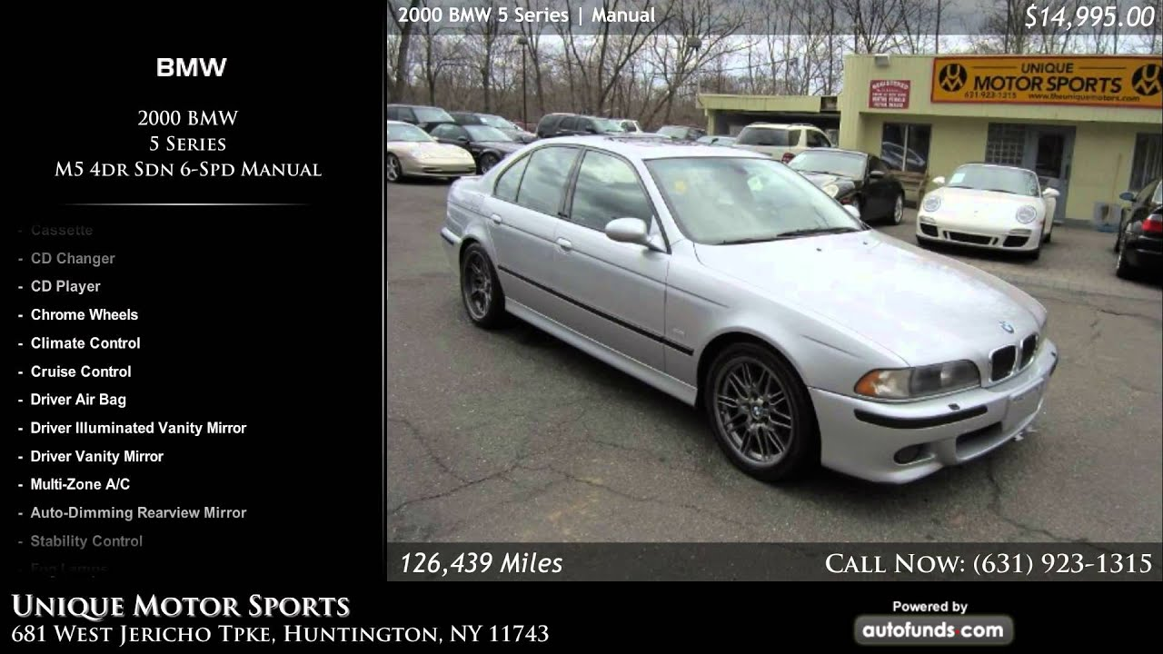 used 2000 bmw 5 series unique motor sports huntington