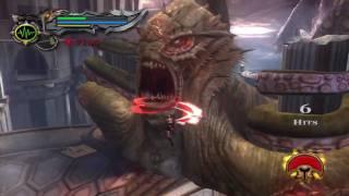 34. God Of War Collection - GOW 2 Titan Difficulty - Kratos vs The Kraken Boss