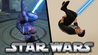 Stunts From Star Wars Jedi: Fallen Order In Real Life