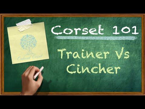 6a7c013684bf1 Corset 101  Waist Trainer Vs. Waist Cincher - YouTube