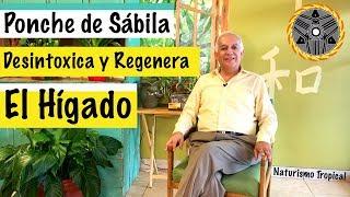 REMEDIO NATURAL PARA DESINTOXICAR EL HIGADO | Ponche de Sábila |  Dr MaYu