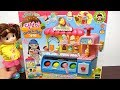 Ice cream cooking toys ☆ popcorn sweets toys ☆ cute dolls and girls