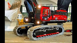 STUNNING RC EXCAVATOR, TRACTOR, TRUCK, SEMI TRUCK, TIPPER & MORE ON THE CONSTRUCTION SITE!