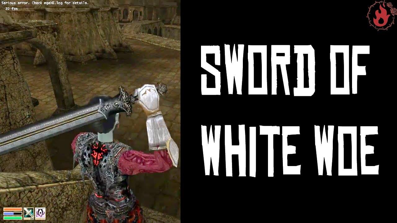 Sword of White Woe – Morrowind Walktroughs