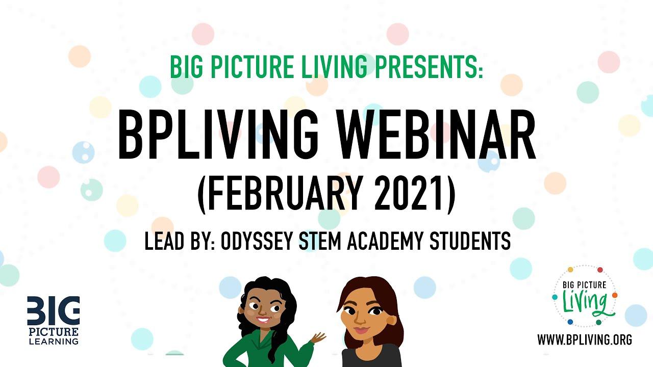 Big Picture Living |Wellness Webinar | February 2021 | lead by Odyssey Stem Academy
