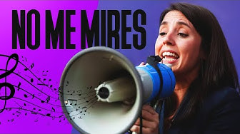 Image del Video: IRENE MONTERO | No me mires (Que me oprimes) | MECANO - Maquillaje (PARODIA) | Feminismo | 8M