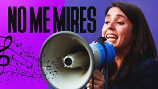 IRENE MONTERO | No me mires (Que me oprimes) | MECANO - Maquillaje (PARODIA) | Feminismo | 8M