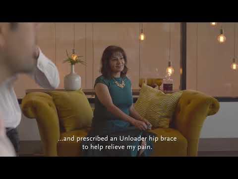 Unloader® Hip – Osteoarthritis Brace for Dancing