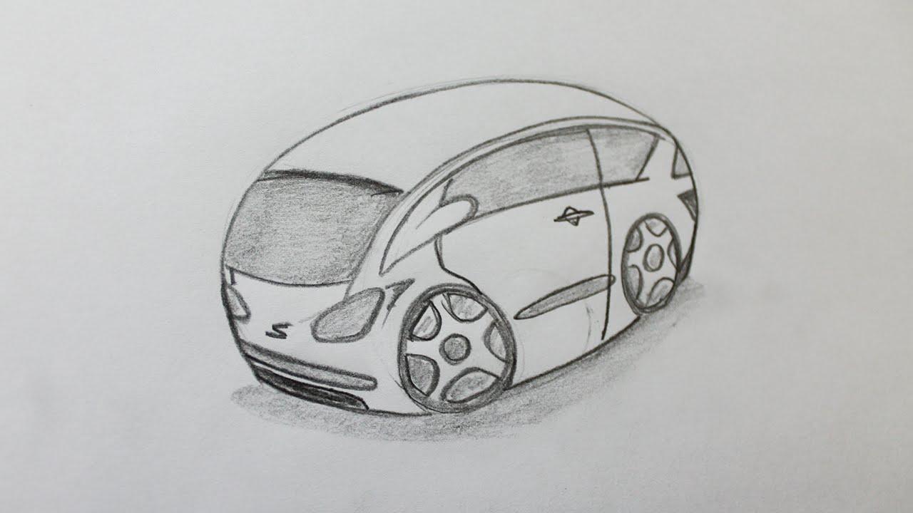 Comment dessiner une voiture facilement youtube - Dessiner une voiture facile ...