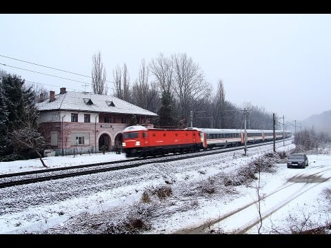 Winter Fast Trains near Bucharest, Romania [January, 2012]