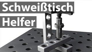 Spannbolzen für Schweißplatte Schweißtisch 28 mm 15mm//Siegmund