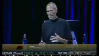 Steve Jobs' Emotional Appearance at Applefest