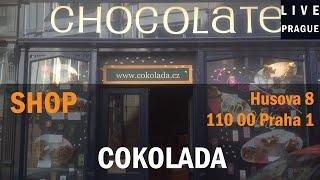 Shop  in Prague - Cokolada Husova 8 Praha 1 - Choccolate - We Love Choccolate