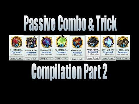 Lost Saga  Mega Passive Combo & Trick Compilation