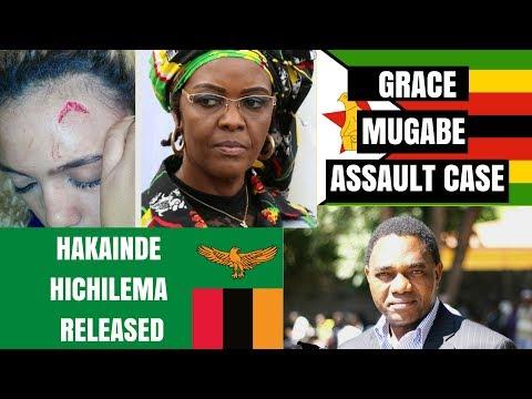 GRACE MUGABE ASSAULT | HAKAINDE HICHILEMA RELEASED