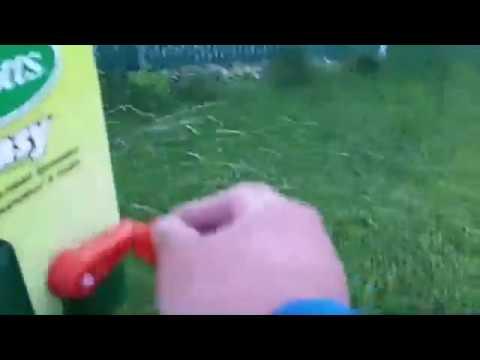 Using Vigoro Lawn Fertilizer on Scotts Handheld Spreader