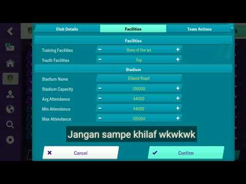 Bug Ige ( In-game Editor) Football Manager Mobile