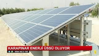 Karapınar'daki güneş enerji santralinin inşası başlıyor