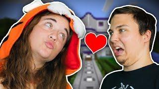 Minecraft Daycare - TINA'S KISS !? (Minecraft Roleplay)