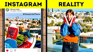 INSTAGRAM VS. REALITY 20 PHOTO HACKS EVERYONE WILL FIND USEFUL