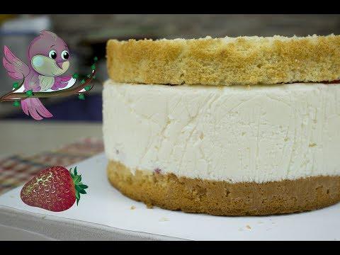 Торт Птичье молоко без выпечки - кулинарный рецепт