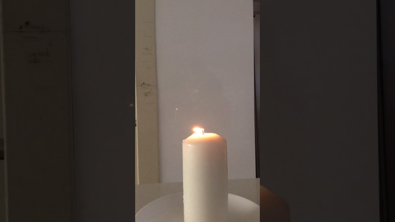 pictures How to Put Out a Candle with Your Fingers