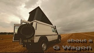 XTENT  SF G - about a G wagon - Mercedes-Benz G Klasse expedition camper made by 4x4CAMP.eu