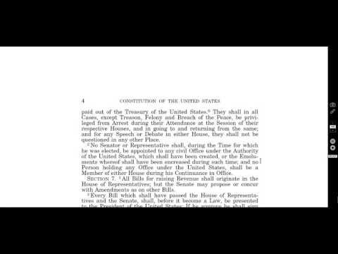 the constitution of the united states  article 1