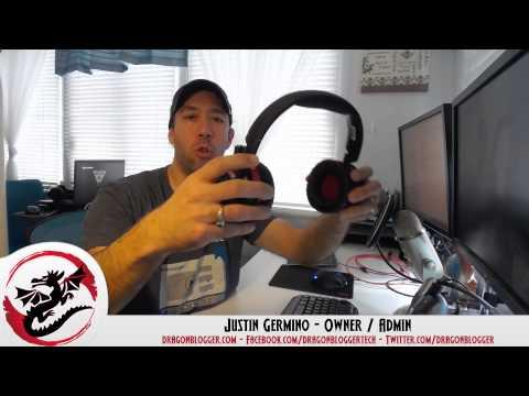 Video Review of the Creative Soundblaster EVO ZxR Headphones