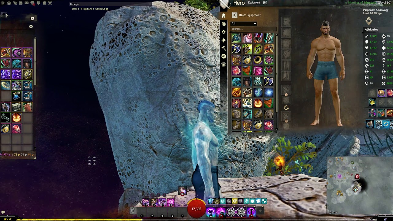 Gw2 Halloween Infusion 2020 Guild Wars 2   Polysatured Reverberating infusion Gray Halloween